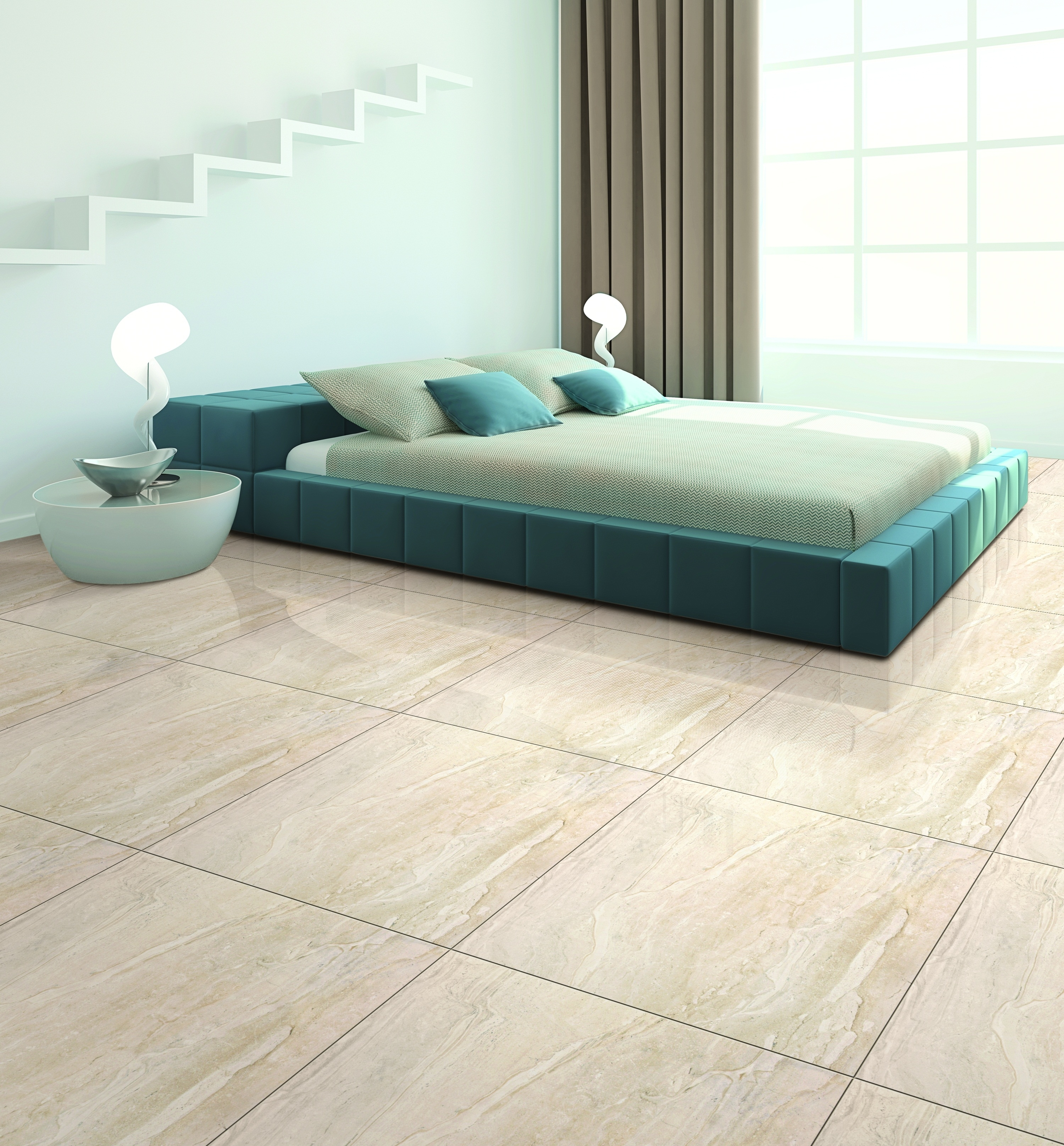 Best tiles in india for floor thefloors co for Deck tiles india