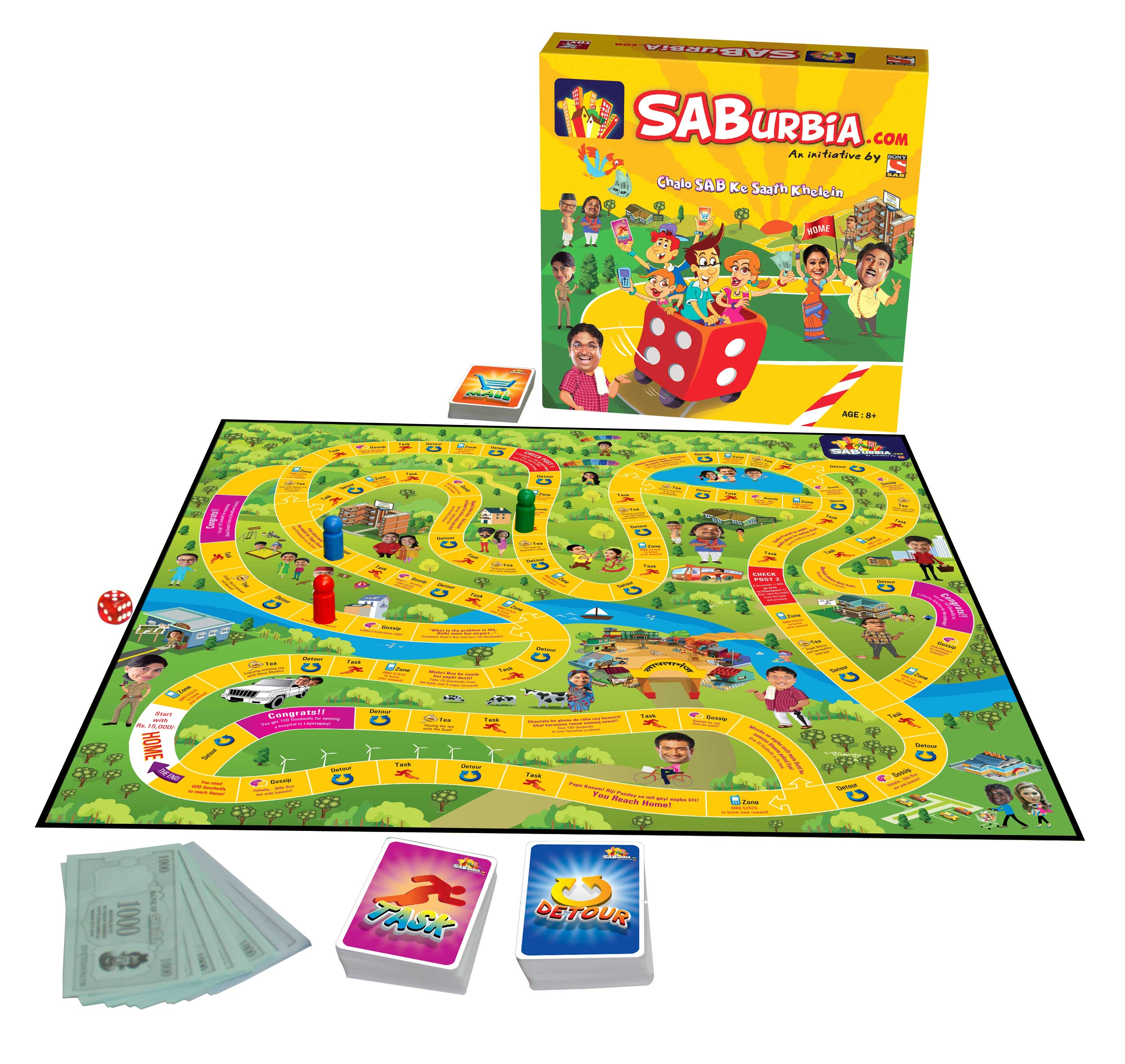 Sab tv board game
