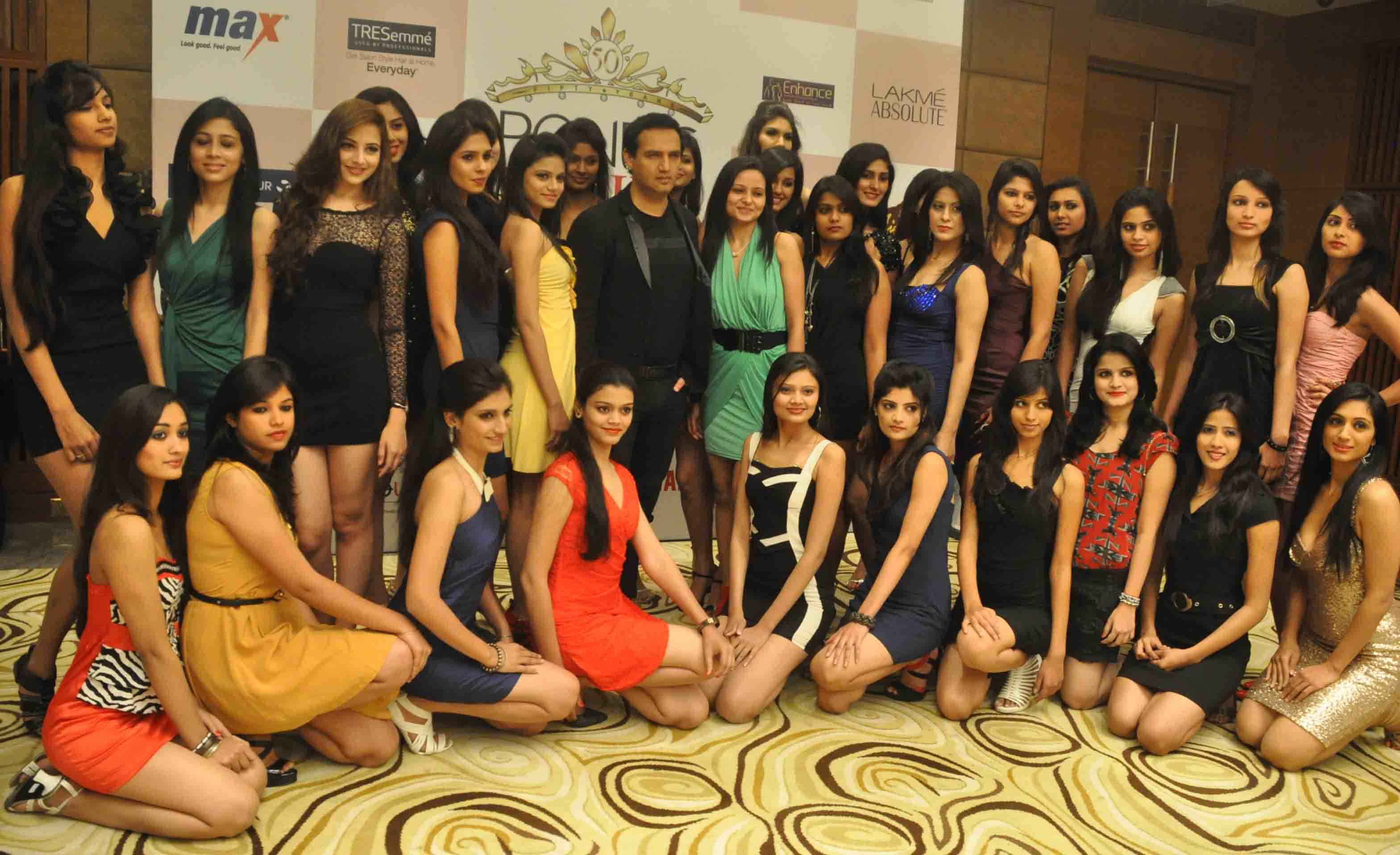Pond's Femina Miss India 2013 witnessed an enthusiastic response