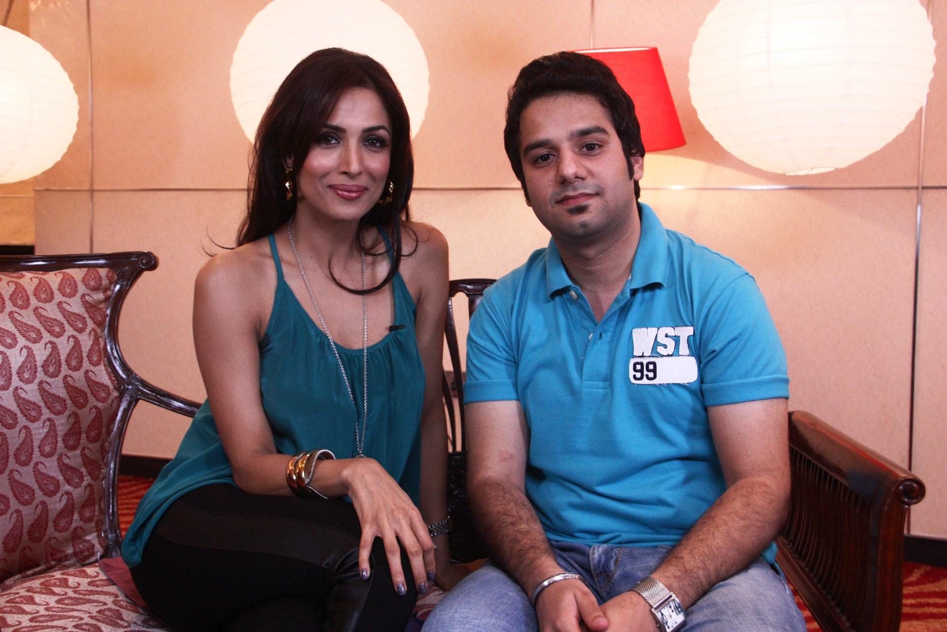 Malaika agrees to do a movie with her Fan!   Atul Malikram ...