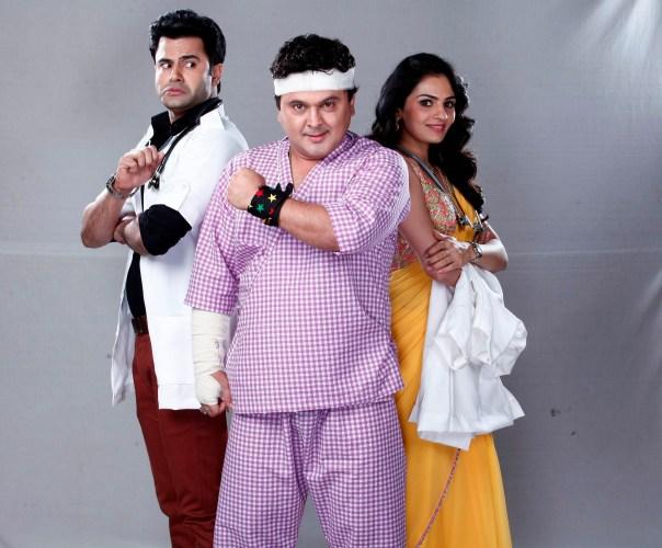 Ather Habib, Ali Asgar & Krishna Gokani as Dr Ranbeer, Nathu Nakabandi &...