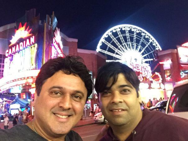 Ali Asgar along with Kiku Shardha (2)