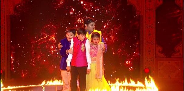 Baalveer Kids fire act