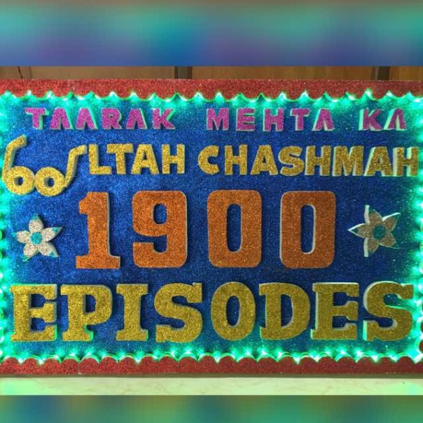 Taarak Mehta Ka Ooltah Chashma completes the success of 1900 episodes on SAB TV