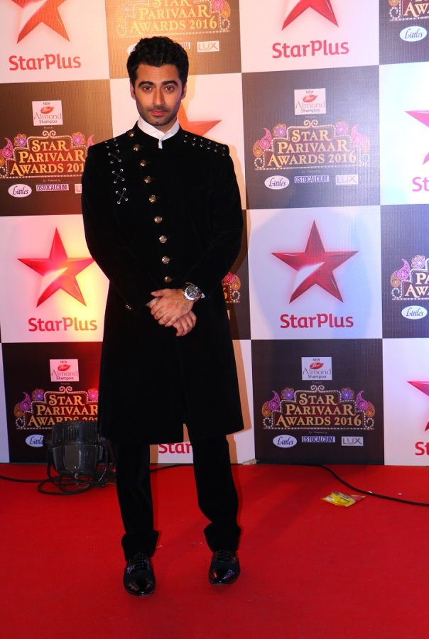 Aadarsh aka Harshad Arora  from Dehleez at Star Parivaar Awards 2016 coming soon on star plus