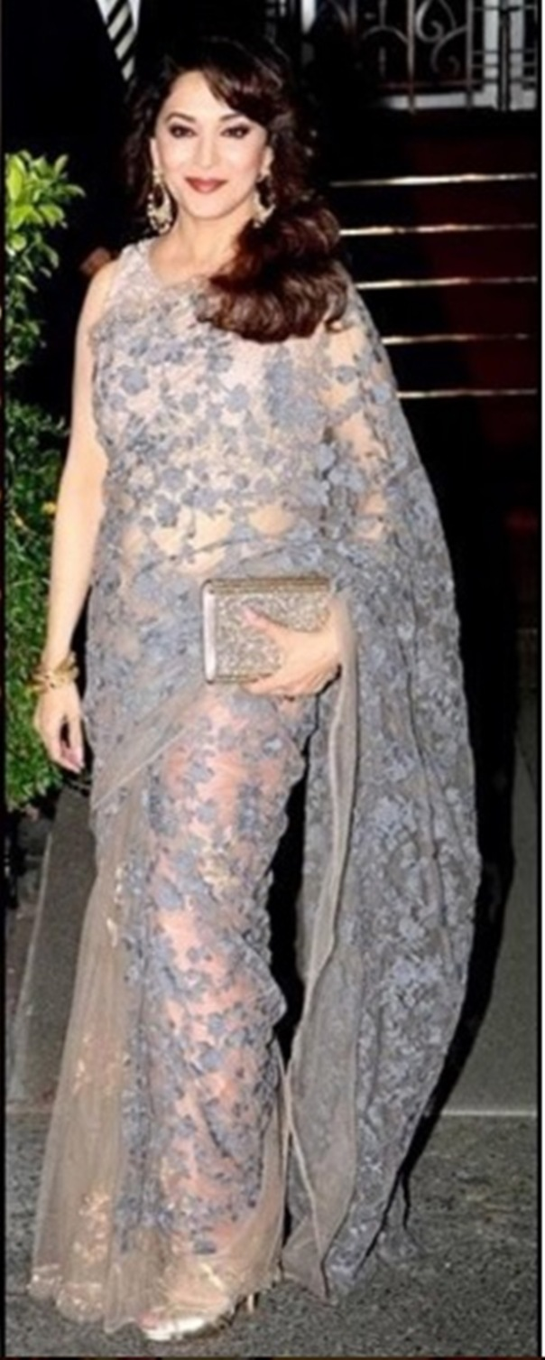 Madhuri Dixit at the royal dinner full