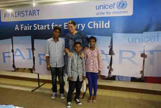 Caroline Den Dulk, Chief, Advocacy & Communication, UNICEF India with Sa..._1