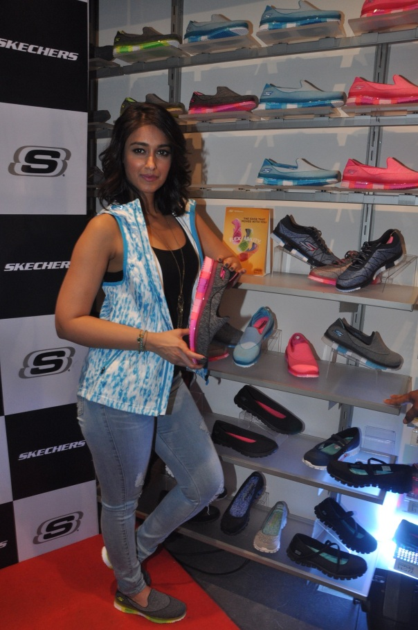 Ileana At the launch of SKechers Go Flex Walk
