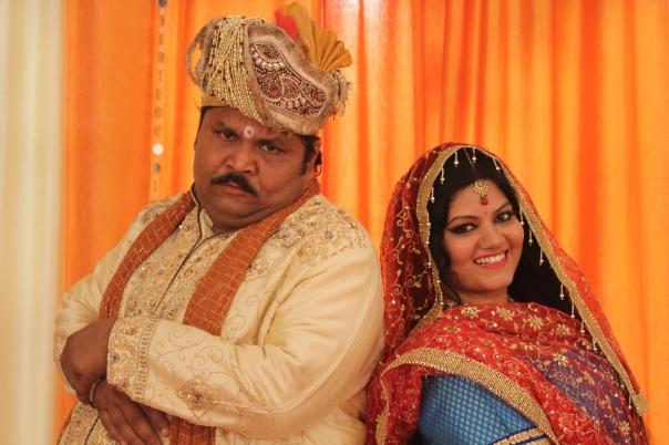Jitu Shivhare & Aarti Khandpal as Gadhaprasad & Markati_#GadheKiShaadi 2...