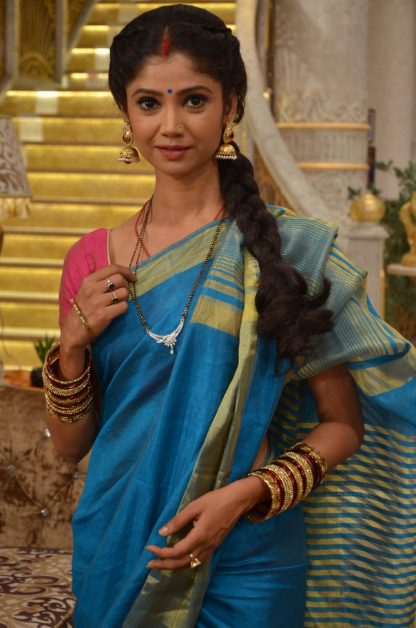 Ratan Rajput as Santoshi in Santoshi Maa