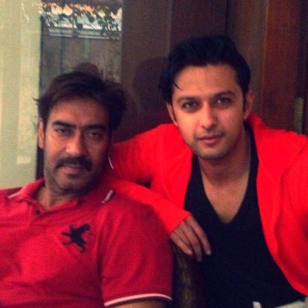 Vatsal and Ajay Devgn