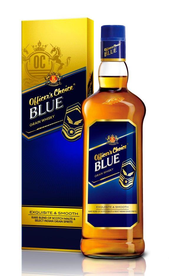 New package design of OC Blue Bottle & monocarton