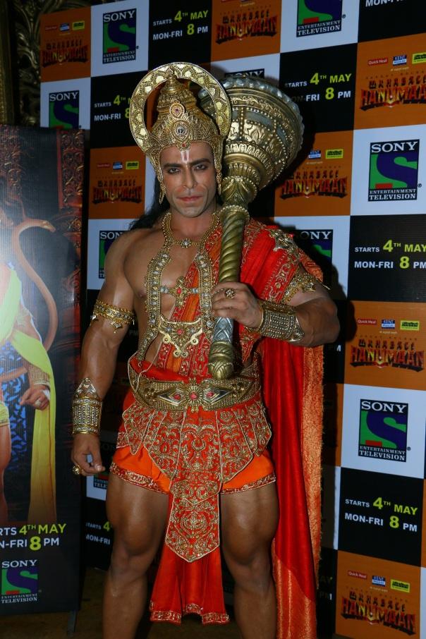 Nirbhay Wadhwa to plays the role of lord Hanuman in Sankat Mochan Mahaba....jpg