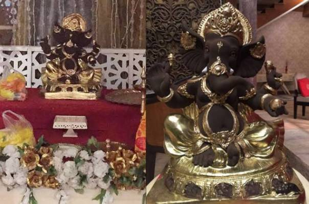 chocolateganpati-on-the-set-of-bahu-hamari-rajnikant